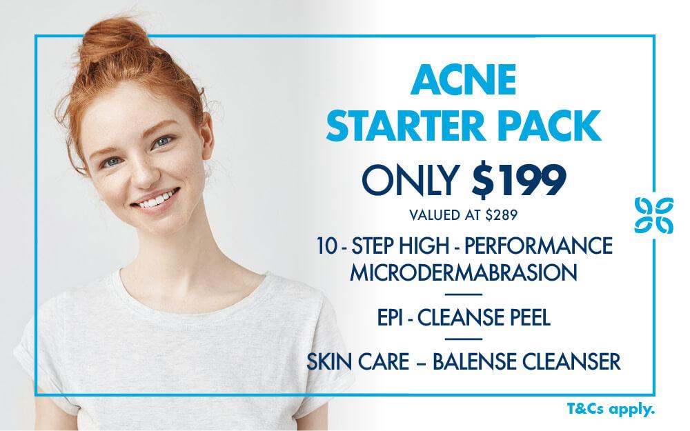 January Promotion Mobile Acne Starter Pack